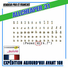 Kit de Vis iphone 6S complet +2 vis pentalob offert ou vis pentalob seul