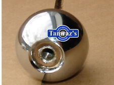 "67 68 Camaro Shifter Chrome Ball 5/16"" Muncie"