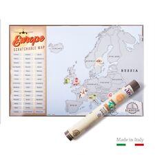 Scratch Map Europe | L'unica Mappa da Grattare Made in Italy |