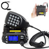 QYT KT-8900D Quad display mini dual band mobile radio+ cable 5Tone VHF 25 NEW RF