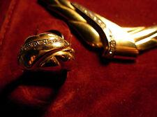 14k  yellow gold ring ,  not scrap