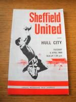 08/04/1969 Sheffield United v Hull City  (With Football League Review). No obvio