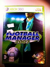 FOOTBALL MANAGER 2007 XBOX360 SEALED  SIGILLATO