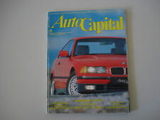 AUTOCAPITAL 2/1992 BMW SERIE 3 COUPE'/ALFA ROMEO 155/GT VELOCE/FERRARI 250 GTO