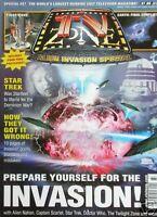 INVASION! 2000 TV ZONE Mag ALIEN NATION  STAR TREK