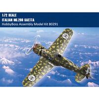 HobbyBoss 80291 1/72 Italian MC.200 Saetta Fighter Assembly Aircraft Model Kits