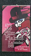 Filmplakate - Kalender 1981, mit 52 Filmplakaten, STAR TREK, PLATTFUSS AM NIL