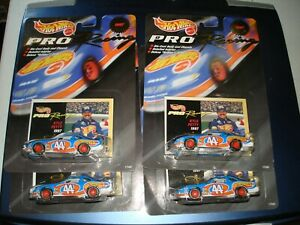 LOT of 4 - 1st edition Hot Wheels 1997 Pro Racing Kyle Petty cars MINT in Pack