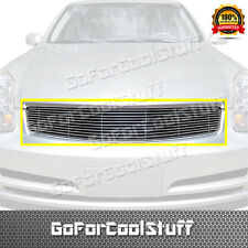 For Infiniti G35 Sedan 2003-2004 Upper Billet Grille Insert (W/O Logo Cut-Out)