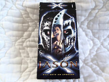 JASON X VHS FRIDAY THE 13TH VOORHEES HORROR SIGNED KANE HODDER SLASHER MACHETE