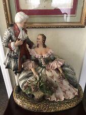 Capodimonte Large Porcelain Figurine