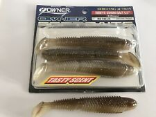 """Owner JR Minnow 5,5/""""//11,5 cm ayu Caoutchouc poissons 7 pièces Zander appât caoutchouc poissons"""