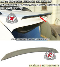 CityKruiser Add-on Roof Spoiler Wing (ABS) Fits 11-17 Toyota Sienna