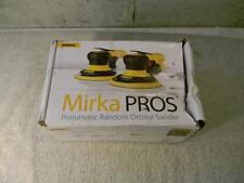 """Mirka Pros 525Nv Pneumatic Random Orbital Sander 5"""" Orbit 2.5mm ~Unused~ in Box"""