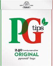 PG Tips 240 Bolsitas de Té-perfecto para el hogar, empresa, uso de trabajo