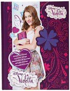 Giochi Preziosi 70051801 Disney VIOLETTA Diary  pink with flowers magnetic lock