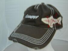 Cozumel Mexico shark baseball cap hat adjustable distressed look