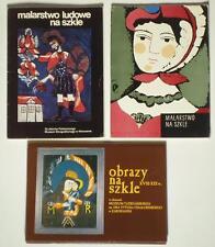 3 Postcard Sets Polish Reverse Glass Painting antique folk icon Zakopane POLAND