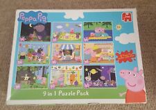 *Peppa Pig* 9-in-1 Jigsaw Puzzle Pack game - kids' toy