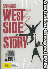 West Side Story DVD NEW, FREE POSTAGE WITHIN AUSTRALIA REGION ALL