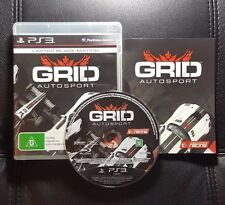 GRID Autosport (Sony PlayStation 3, 2014) PS3 Game - FREE POSTAGE