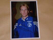 """CHRISTIAN POULSEN  7x5"""" FC SCHALKE 04 PHOTO SIGNED / FC COPENHAGEN / DENMARK"""
