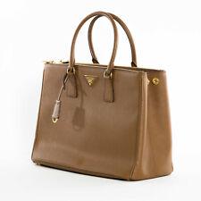 Prada 1BA786 nzv F0401 Grande Saffiano Lux Mujer Tote Bag Cannella Marrón