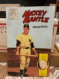 Magnum Comics #2 Mickey Mantle Spectacular Second Issue November 1992