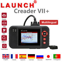 LAUNCH X431 Creader VII+ OBD2 Diagnostic Tool Engine Transmission ABS SRS CRP123