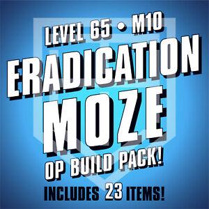 Borderlands 3 [ERADICATION MOZE] Build Pack [LEVEL 65 • M10] BL3 [ALL PLATFORMS]