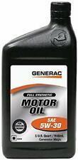 Generac Full Synthetic Motor Oil 5W-30 SN Quart Bottle Part#0J5140 (1-qt)
