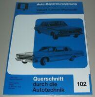 Reparaturanleitung Valiant Lancer Plymouth 6 + 8 Zylinder Buch Ausgabe 2 NEU!