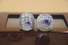 2 Pcs 2018 2019 New England Patriots Championship Ring !