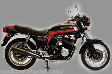 HONDA CB900FC RESTORATION DECAL SET BLACK MODEL