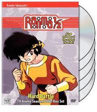 Ranma 1/2 Hard Battle - Box Set DVD, 2007, 5-Disc Set SEASON 3 anime