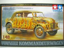 32553 Tamiya 1/48 German  STEYR Type 1500A Commander Wagon Armored Car Model Kit