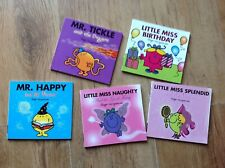 Bundle of mr men's books and little miss 5 in total