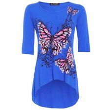 Maglie e camicie da donna camicetta blu taglia L