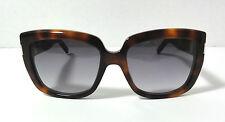 SAINT LAURENT Sunglasses SL15/S Havana Frame Gray Lens 55-18-140mm