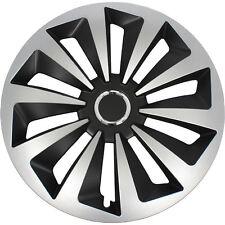 4 X Radkappe Radblende Satz Fox 14 Zoll schwarz Silber DAIHATSU UVP 61 99