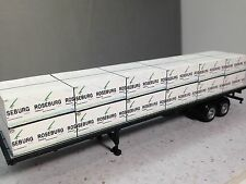 HO 1/87 Lumber Load - Roseburg Forest Products to fit 48' HO Flatbed Trailer