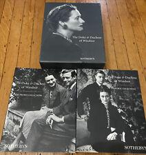 Duke And Duchess Of Windsor Sothebys 2 Book Set