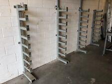 More details for 4 section material storage rack - steel storage rack - bar rack