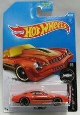 HotWheels Camaro Fifty 4/5 Orange '81 Camaro 361/365 Mattel 3+
