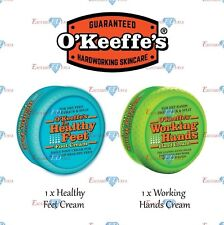 O'Keeffe's Working Hands Hand Foot Cream Set Cracked Split Skin Non-Greasy NEW