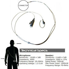 Impact SP3-P2W-EH4 Platinum 2-Wire Ear-Hook for Sepura Bottom Mount SRP and SRH