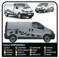 kit completo adesivi per furgone grafica vinile adesivi decalcomanie Set trafic