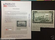China 1955 Construction Loan Bond $1000000 With Pass Co Certificate