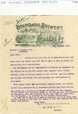 Australie - Sydney - Belle Entête d'une Brasserie Australienne de 1907
