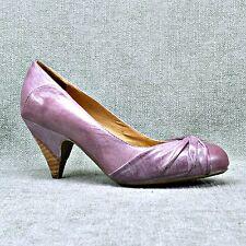 "MIZ MOOZ ""FELICITY"" Soft Purple Leather Pumps Women's sz 8  NEX2NEW"
